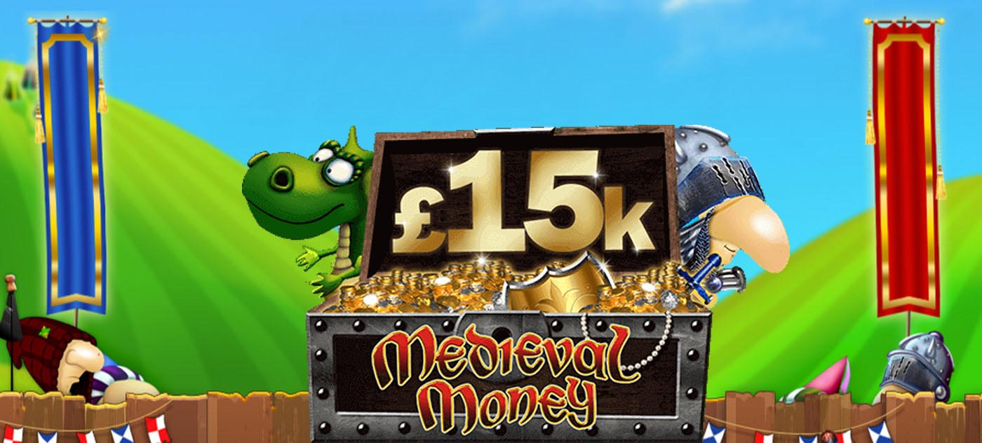 Medieval Money Giveaway at BetVictor casino
