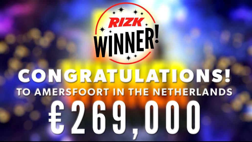 Major Millions winner at Rizk casino